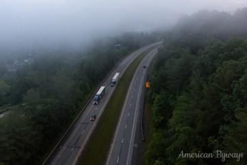 US Route 19 Near Mt. Hope, West Virginia