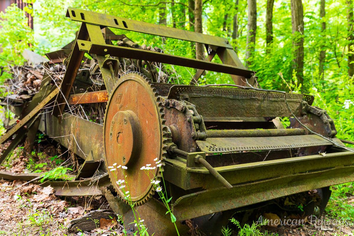 Nuttallburg Machinery Ruins