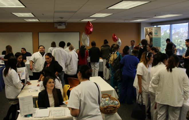 72 Employers Attend ACC Los Angeles' First Career Fair Of 2017