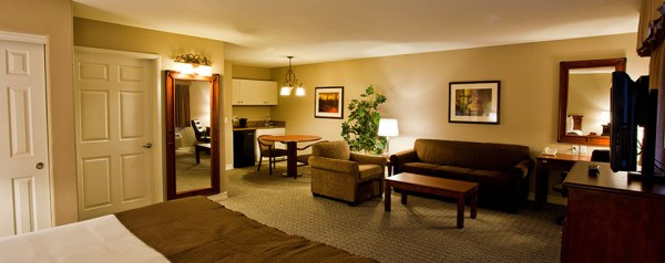 A standard Suite at Tuscany Las Vegas