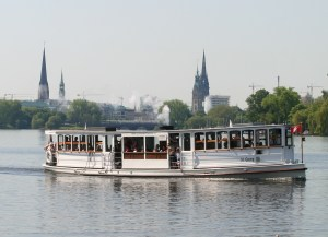 A dear tradition: The Floating Stammtisch aboard a historic Alster Steamer @ Jungfernstieg (Boat Docks)