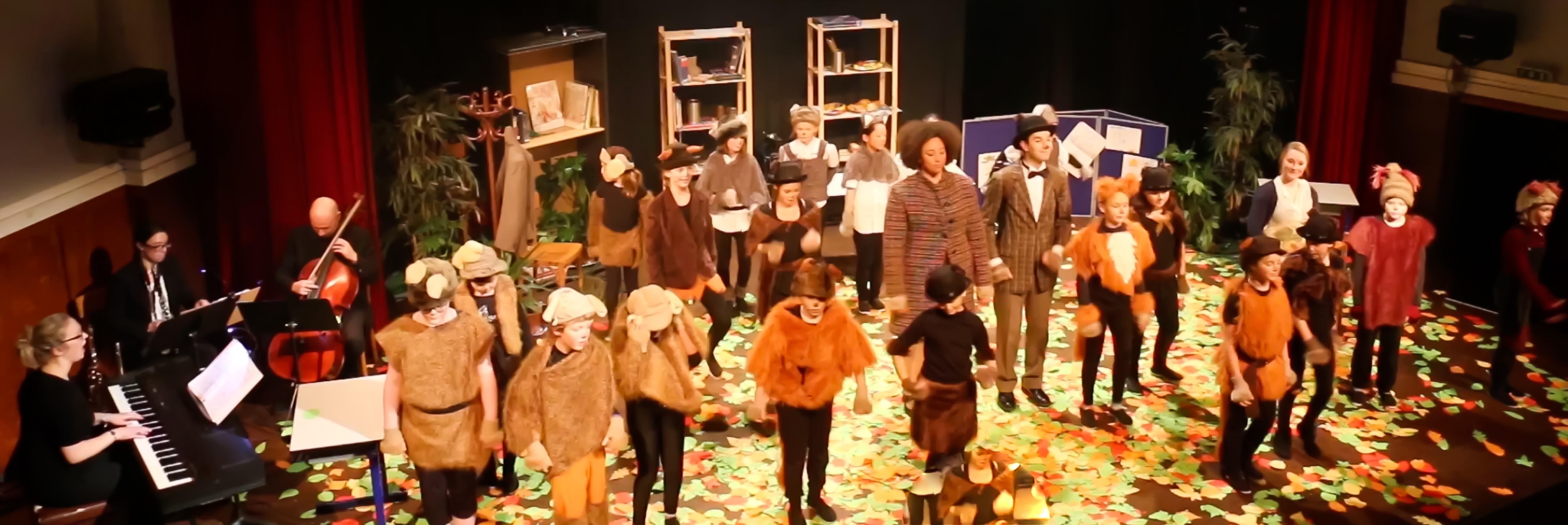 Performing Arts Hedgehog's Home