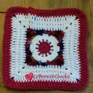 Hot Plum Jam   Free Crochet Pattern   American Crochet @americancrochet.com #freecrochetpattern