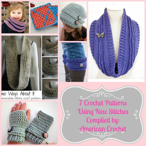 Patterns Using New Stitches