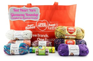 Red Heart Yarn Giveaway's ~ Roundup