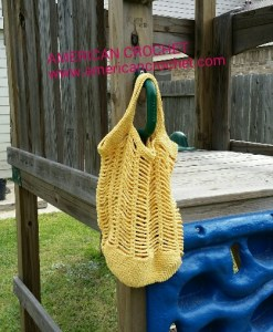 Easy Breezy Market Bag yellow