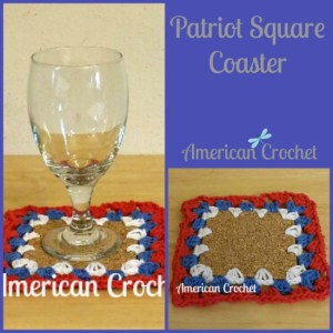 Patriot Square Coaster Collage