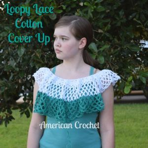 Loopy Lace Cotton Cover Up ptwo