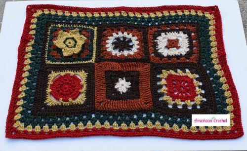 CWU & AC Mystery Blanket CAL | American Crochet @americancrochet.com