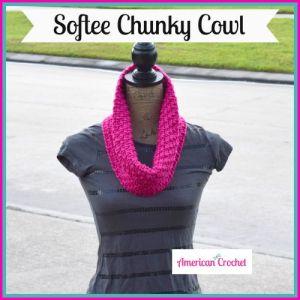 Softee Chunky Cowl | American Crochet