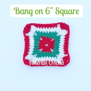 "Bang on 6"" Square"