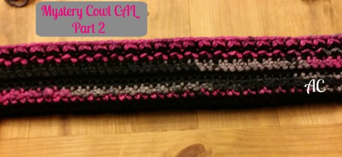Mystery Cowl CAL Part 3 | Free Crochet Pattern | American Crochet @americancrochet.com #crochetalong #freecrochetpattern
