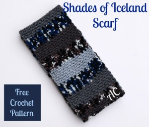 Shades of Iceland Scarf