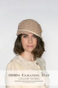 1920 Caramel Cloche Hat Free Crochet Pattern 3