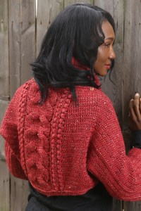 Heathered-Coral-Cowl-and-Wrap-Set-1