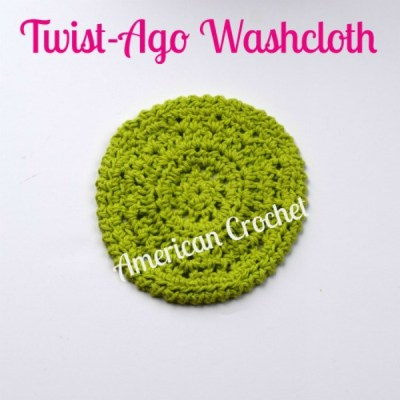 Twist-Ago Washcloth