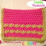 Cuddly Washcloth free crochet pattern