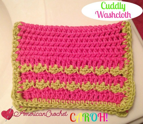 Cuddly Washcloth CAROH