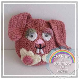Bunny Gift Pocket free crochet pattern
