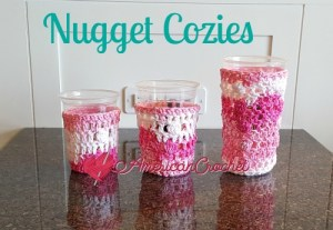 Nugget Cozies Crochet Free Pattern