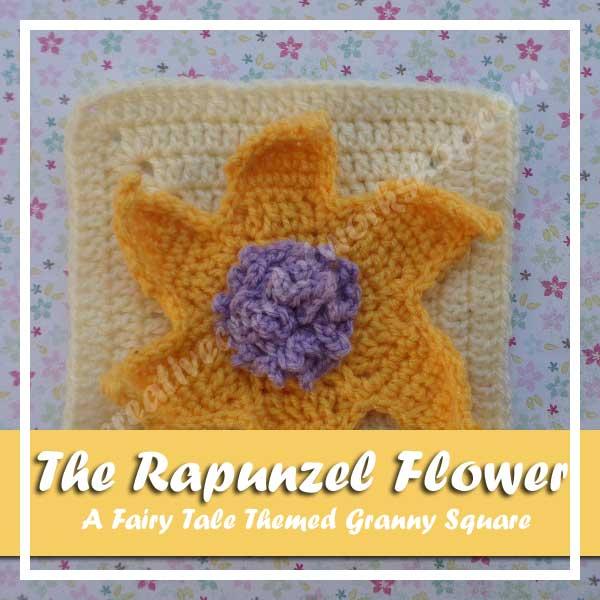 The Rapunzel Flower | Free Crochet Pattern | American Crochet @americancrochet.com @creativecrochetworkshop.com #freecrochetpattern #contributorpost