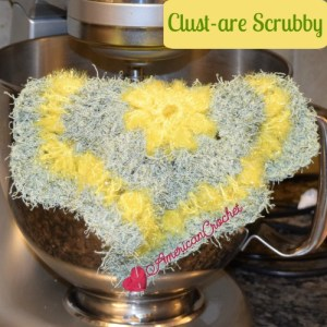 Clust-are Scrubby free crochet pattern