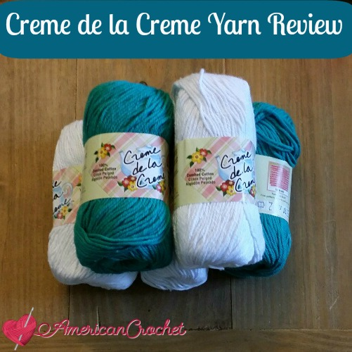 Red Heart Creme de la Creme ~ Yarn Review