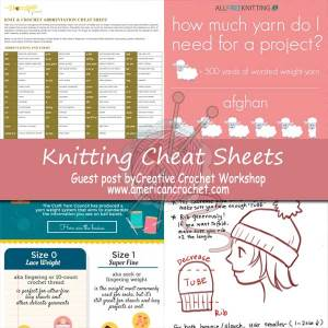 Knitting Journey ~ Knitting Cheat Sheets ~ Guest Post