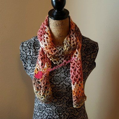 Stained Diamonds Scarf