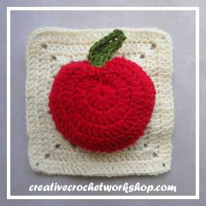 The Bad Apple | Free Crochet Pattern | American Crochet @americancrochet.com @creativecrochetworkshop.com #freecrochetpattern #crochetalong