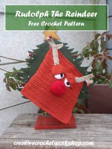Rudolph The Reindeer ~ Free Crochet Pattern