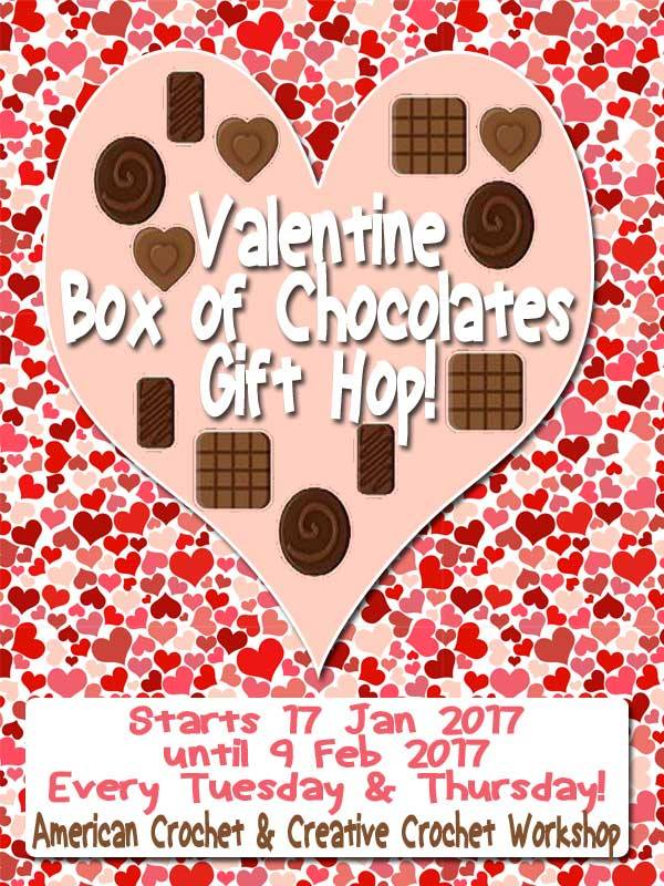 Valentine Box of Chocolates Gift Hop!