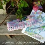 Candyfloss Bubble Pencil Case free crochet pattern