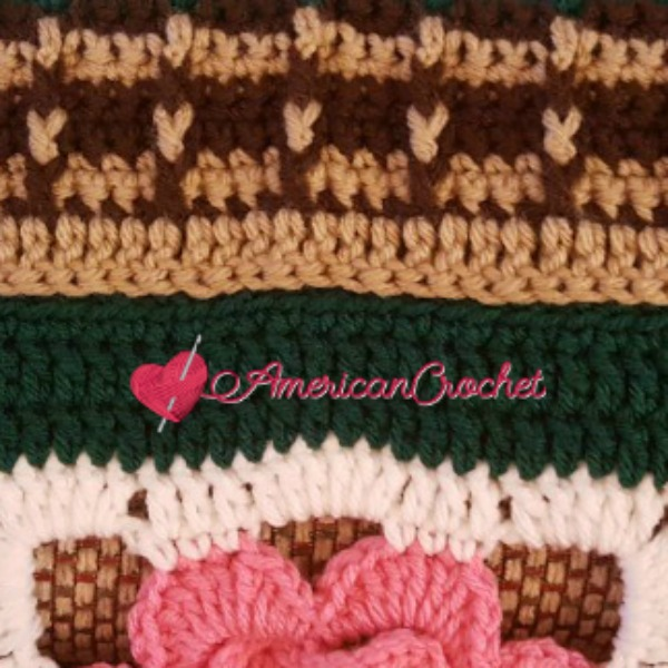 Fields Of Flowers Afghan Part Four American Crochet