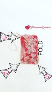 Strawberry Delight Gift Card Holder   Free Crochet Pattern   American Crochet @americancrochet.com #freecrochetpattern