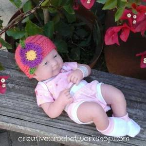 Flower Applique ~ Crafting A Rainbow Of Hope!