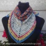 Turning Seasons Scarflet free crochet
