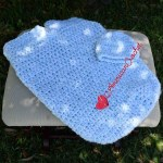 Baby Summer Cocoon Set free crochet pattern