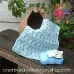 Thistle Washcloth free crochet pattern