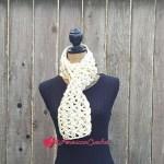 AC-Marshmallow Scarf free crochet pattern