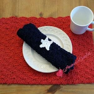 Picnic Pocket Napkin ~ Free Crochet Pattern