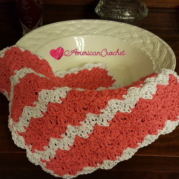 Strawberry Truffle Washcloth and Soap Cozy | Free Crochet Pattern | American Crochet @americancrochet.com #freecrochetpattern