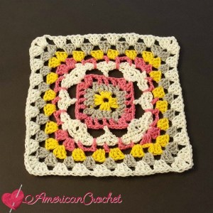 Rhapsody Flower Granny Square