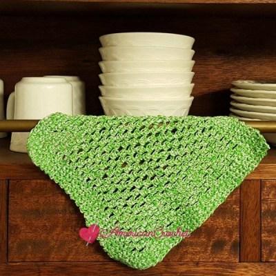 Double Moss Dishcloth