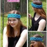 Fashion Arch Headband Collage free crochet pattern