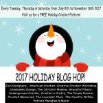 2017 Holiday Blog Hop! free crochet patterns