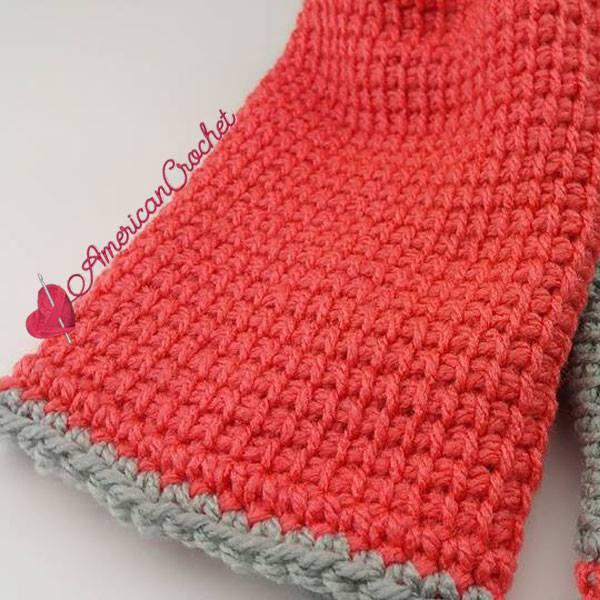 Tunisian Hugs Lovey   Free Tunisian Crochet Pattern   American Crochet @americancrochet.com #TunisianHugsLovey