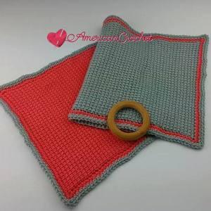 Tunisian Hugs Lovey | Free Tunisian Crochet Pattern | American Crochet @americancrochet.com #TunisianHugsLovey