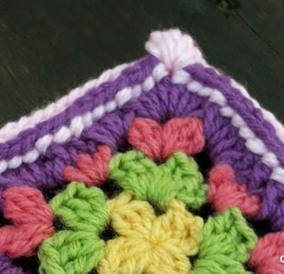 Groovy Cluster Granny Square