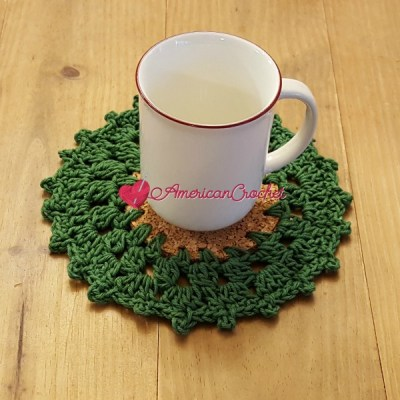 Holly Wreath Coaster
